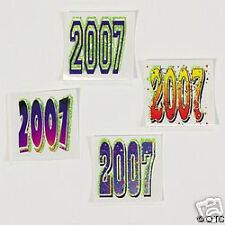 2007 Glow In The Dark temporary tattoos Happy New Year