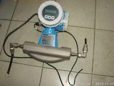Used E+H Endress + Hauser PROMASS 80 F Coriolis FLOW METER Transmitter HART
