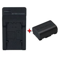 Battery&Charger for JVC Everio GZ-MS110BU MS230BU GZ-MS250BU MS250BUS Camcorder