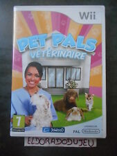 ELDORADODUJEU > PET PALS VETERINAIRE Pour NINTENDO WII VF COMPLET CD COMME NEUF