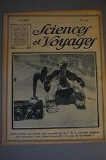 SCIENCES ET VOYAGES // N° 208 // 23 AOUT 1923 // INDUSTRIE POUDRE A FAIRE PAIN