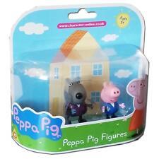 NUOVO PEPPA PIG DANNY DOG & George Twin Pack Figura