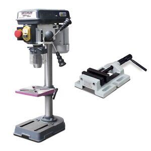 OPTIdrill Tischbohrmaschine  Ständerbohrmaschine 230 V B14 +Schraubstock BMS85