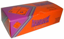 1 Box Ramback 6.5mm Ultra Slim Brown Tip 200 Cigarette Filter Tubes - 3104