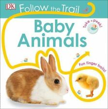 Follow the Trail: Baby Animals (Board Book)