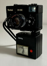 Rollei 35 se 2,8/40 fotocamera analogica con flash