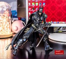 Play Arts Kai Batman Dark Knight Katana Limit PVC Figures Statue Model NIB 09998