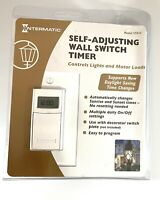Intermatic Self Adjusting Wall Switch Timer ST01C White Conserve Energy-D07