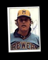Ed Sprague Hand Signed 1975 SSPC Milwaukee Brewers Autograph