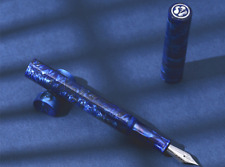 LIY shiyi Blue Color fountain pen F nib
