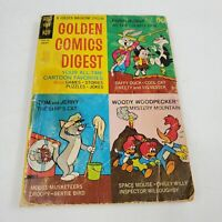 Golden Comics Digest #8 Woody Woodpecker Bugs Bunny Vtg Comic Book GD+ 2.5