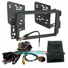 Double Din Radio Install Dash Kit & Wiring Interface for Select GM, Car Stereo