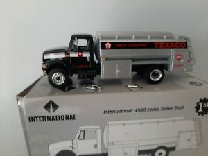 1/54 (1/50) o scale first gear 1997 International 4900 Tanker Texaco truck