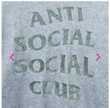 Authentic and Unopened Anti-Social Club Hoodie