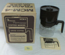 VINTAGE AMANA RADARANGE MICROWAVE OVEN COFFEE MAKER MCM-4 W/box