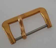 TISSOT RED GOLD PLATED NEW OLD STOCK BUCKLE VINTAGE REPLACEMENT