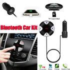 Bluetooth 4.0 VIVAVOCE AUTO KIT TRASMETTITORE FM MP3 LETTORE & CARICABATTERIE