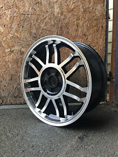 "17"" BLACK & POLISH STYLED WHEELS AUDI MK1 TT,VW GOLF MK4, BEETLE,TOYOTA,CHRYSLER"