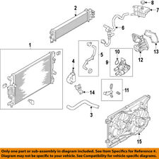 FORD OEM 14-16 Fusion 1.5L-L4 Radiator-Connector DS7Z8592H
