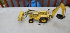 """Ertl Giant Vintage FORD Tractor Loader Backhoe Metal Toy 1:12 scale 34L"""""""