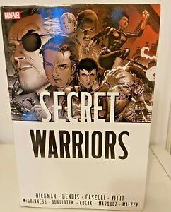 Secret Warriors Omnibus by Brian Michael Bendis, Jonathan Hickman (Hardback,...