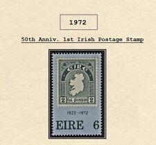 IRELAND (1972) – MNH SET - FIRST IRISH POSTAGE STAMP