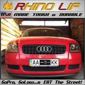 Audi Coupe S3 S4 S5 S6 S7 S8 TT GT Quattro Technik Rubber Flex Chin Lip Splitter