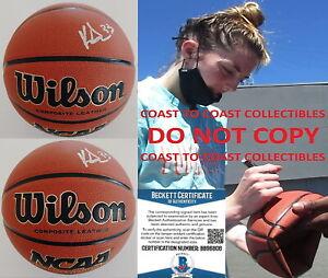Katie Lou Samuelson Seattle Storm UConn Huskies signed basketball proof Beckett