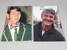 MORNE DU PLESSIS Rugby player SPRINGBOKS in-person signed photo 4 x 6 autograph