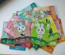 Animal Crossing Series 3 Official Amiibo Cards (including Francine and Chrissy)