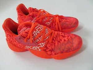 Adidas James Harden Vol 4  EH2409  man scarlet red  shoes sz 14 Brand  New