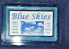 **NEW** Hand Poured Scented Soy Lrg  6 oz Warmer Tarts - Blue Skies