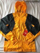 BNWT Men's The North Face Mountain Light Windshell Jacket Orange Small S