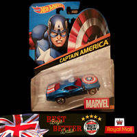 Hot Wheels Marvel Captain America 2 Car 1:64 Scale Die-Cast Vehicle NEW Free P&P