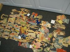 Lot of vintage paper doll sets, Gone With the Wind, Grown-up Paper Dolls, & More