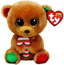 Bella The Christmas Bear Ty Beanie Boos 15cm