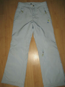Gap light blue girls 10 ski snow pants winter outerwear snow guard hem nice!