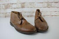 Massimo Dutti Brown Leather Boots size Eu 44