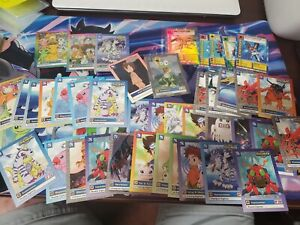 Vintage some 1st Edition Digimon 1999 Bandai Card lot topps