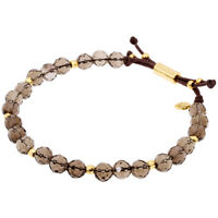 Gorjana Power Gemstone Smoky Quartz Beaded Bracelet For Grounding 17120535GPKG