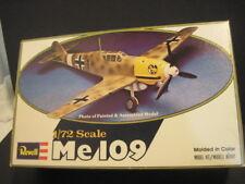 OLD REVELL ME 109 AIRPLANE PLANE MODEL KIT