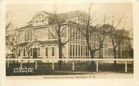 1912 Larimore North Dakota RPPC Photo Postcard 11401