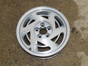 """Aluminum Wheel 17"""" x 9.5"""" Rim LH Drivers 1989 OEM C4 Corvette - ORIGINAL"""