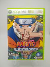 Naruto: Rise of a Ninja (Microsoft Xbox 360, 2007) 100% CIB Cleaned & Tested