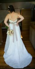Maggie Sottero Couture Size 14 Ivory lace sweetheart A-line wedding Dress