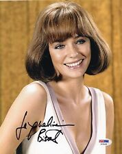 Jacqueline Bisset signed lovely 8x10 photo / autograph PSA/DNA COA