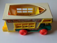 Fisher Price Little People #994 Play Family Camper Not complete Truck w/ Camper