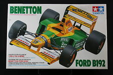 XC014 TAMIYA 1/20 maquette F1 20036 BENETTON ford B192 Mobil 1992 Schumacher