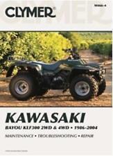CLYMER SERVICE MANUAL M466-4 KAWASAKI BAYOU 300 4WD 1986 1987 1988 1989 1990 91