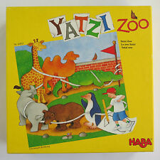 HABA YATZI ZOO COMPLETE DICE GAME | Drawing Wooden Animal Figures | 5-8 Years